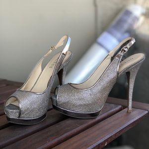 Guess sparkly heels